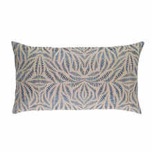 Fossil Embroidered Indigo Decorative