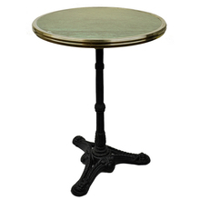 "More about the '20"" Green Granite Bistro Table with Cast Iron Base' product"