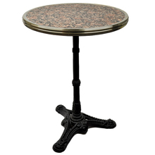 Grey/Pink Granite French bistro table