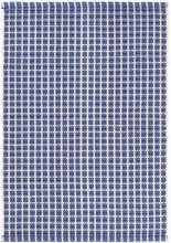 Gridiron Denim Indoor/Outdoor Rug
