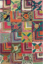 Gypsy Rose Hooked Cotton Rug