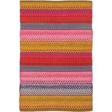 Gypsy Stripe Multi Woven Cotton Rug by Dash & Albert