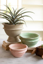 More about the 'Set Of Three Clay Bowl Planters' product