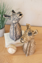 More about the 'Set Of Two Clay Singing Dogs' product