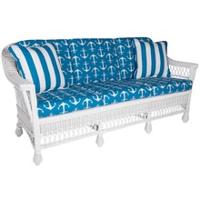Harbor Front sofa - Sailor Cobalt fabric