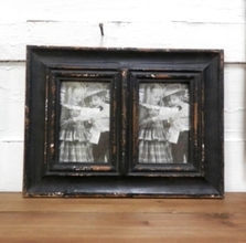 Double Black Picture Frame