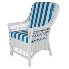 Harbor Front Dining Arm Chair - white frame