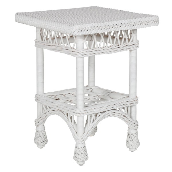 Harbor Front End Table in White
