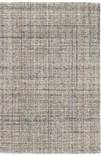 Harris Blue/Brown Micro Hooked Wool Rug