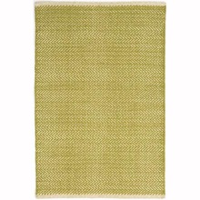 Herringbone Citrus Woven Cotton Rug by Dash & Albert