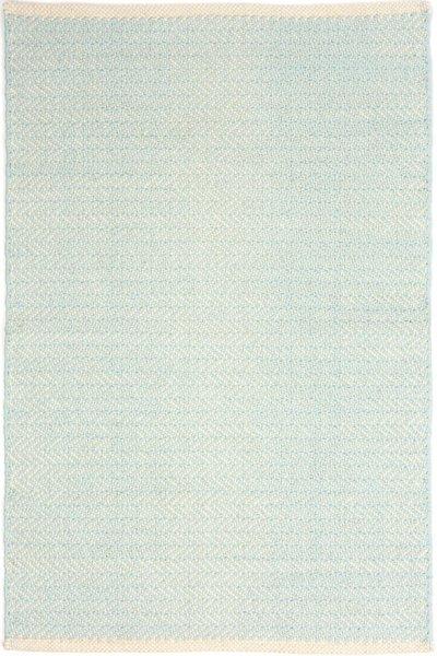Herringbone Sky Woven Cotton Rug By Dash Amp Albert