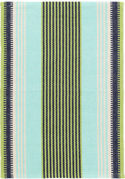 Hollis Stripe Woven Cotton Rug