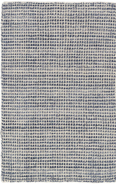 Homer Blue Hand Knotted Wool/Viscose Rug