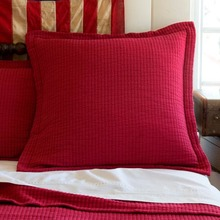 More about the 'Taylor Linens Hudson Red Matelasse Euro Sham' product