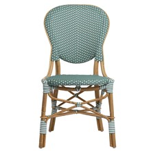 Isabell Side Chair - Sage Green Front