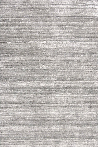 Icelandia Grey Hand Knotted Wool/Viscose Rug