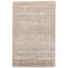 Icelandia Oatmeal Hand Knotted Wool/Viscose Rug