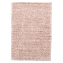 Icelandia Slipper Pink Hand Knotted Wool/Viscose Rug
