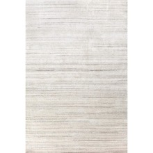 Icelandia White Hand Knotted Wool/Viscose Rug