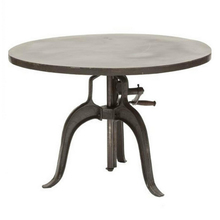 Steel industrial table