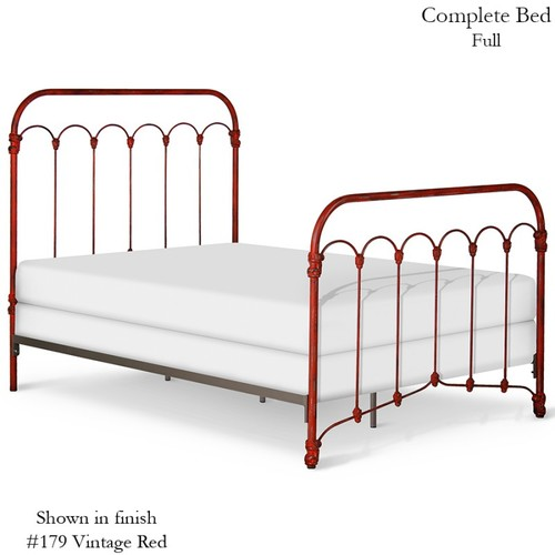 Original Cast Iron Bethany Bed   American Country