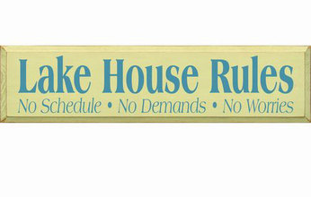 More about the 'Lake House Rules' product