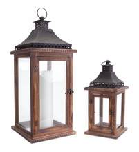 More about the 'Lantern (Set of 2)  Brown/Black' product