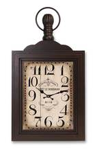 More about the 'Wall Mount Clock  Rust/Brown' product