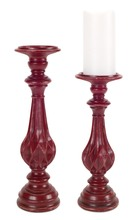 More about the 'Candle Holders (Set of 2)  Red' product
