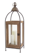 More about the 'Wooden Lantern  Beige/Black' product
