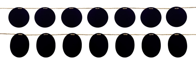 More about the 'Chalkboard Garland Signs (Set of 4)  Black' product
