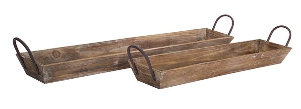 Wood Trays