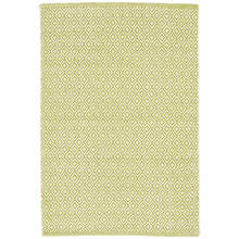 Lattice Citrus Woven Cotton Rug