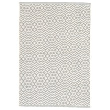 Lattice Sky Woven Cotton Rug