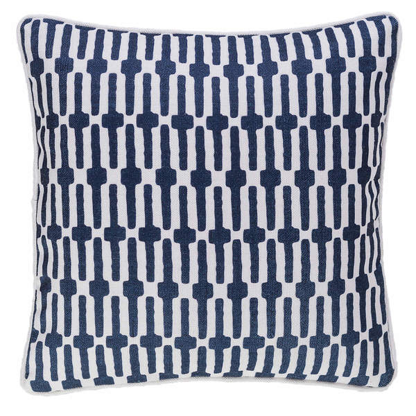 Links Navy Decorative pillow