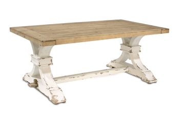 Tuscan Tressle Coffee Table