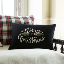 More about the 'Merry Christmas Embroidered Pillow by Taylor Linens' product