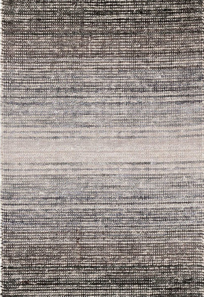 Grey Moon Woven Cotton/Viscose Rug