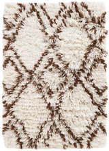 Moroccan Diamond Brown Indoor/Outdoor Rug