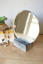 More about the 'Tabletop Mirror With Grey Marble Base' product