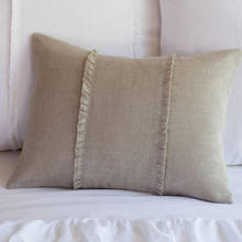 Hampton Natural Boudior Pillow