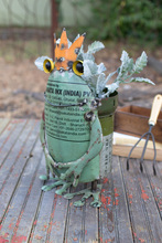 More about the 'Repurposed Military Canister Frog Planter' product