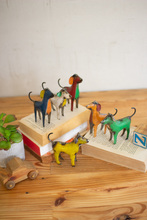 More about the 'Set Of Six Recycled Metal Dogs' product