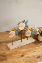 More about the 'Set Of Three Recycled Wood And Metal Fish On A Stand' product