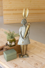 More about the 'Galvanized And Brass Rabbit With Carrot' product