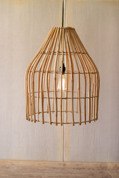 Cane Dome Pendant Light