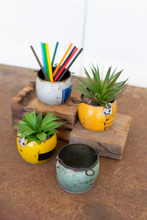 More about the 'Set Of Four Assorted Recycled Metal Pots' product
