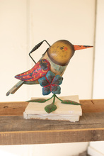 More about the 'Painted Iron Hummingbird Watering Can' product