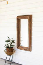 More about the 'Recycled Wood Rectangle Multi Level Mirror' product