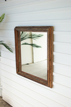More about the 'Recycled Wood Square Multi Level Mirror' product